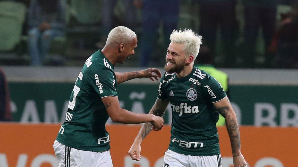 [VIDEO] El escándalo que dejó a un jugador del Palmeiras fuera del primer partido contra Colo Colo