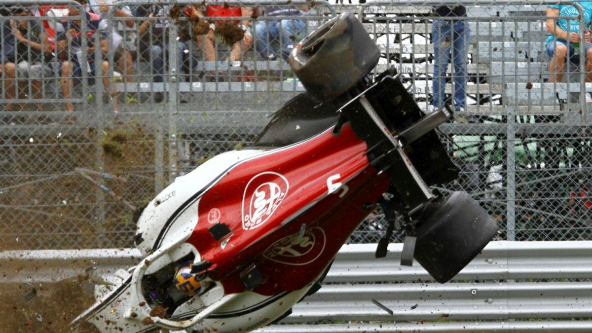 [VIDEO] Piloto de Fórmula 1 sufre impactante accidente y sale caminando