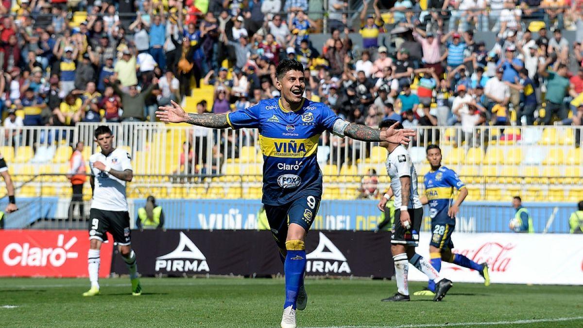 Colo Colo cae ante Everton con cuatro goles de Patricio Rubio