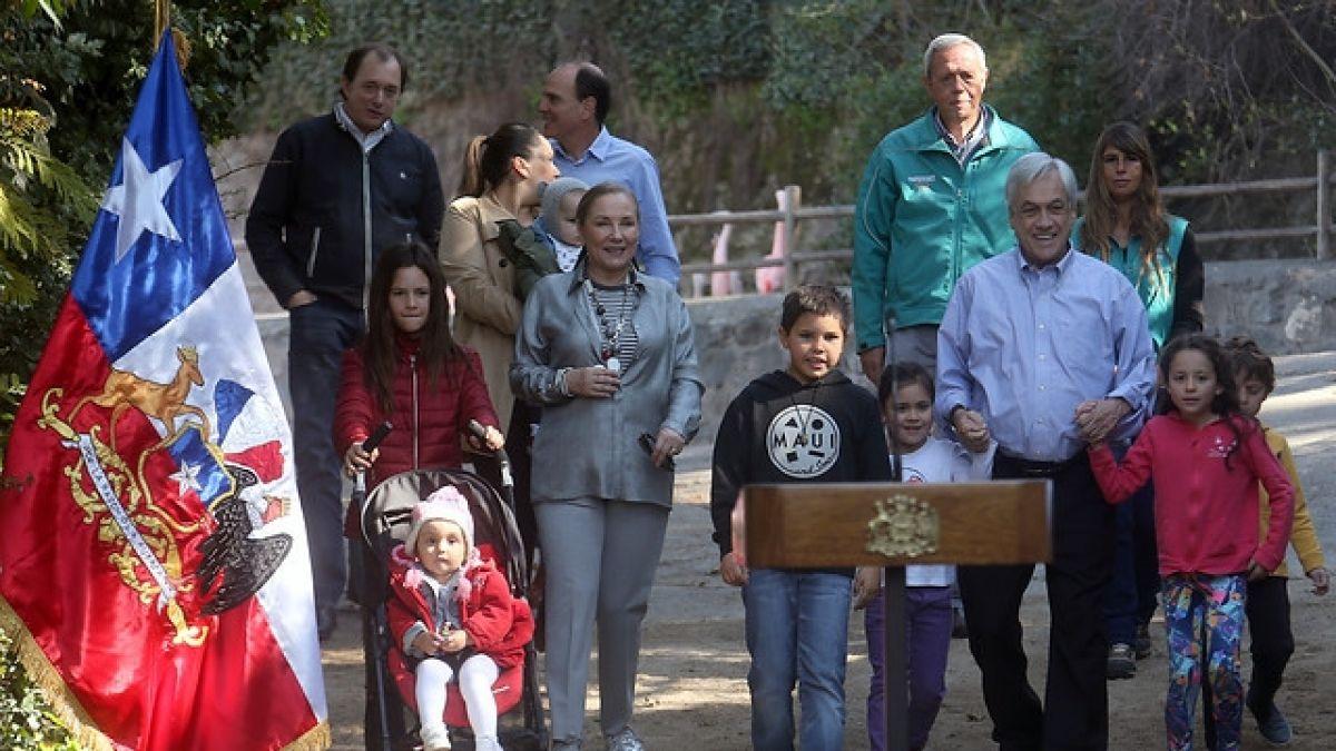 [FOTOS] Sebastián Piñera presenta proyecto de Ecoparque Metropolitano