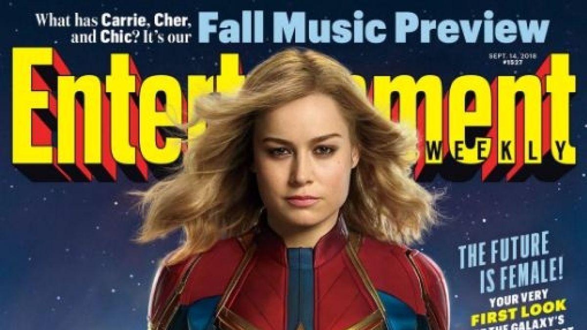 Difunden la imagen oficial de Brie Larson como Capitana Marvel