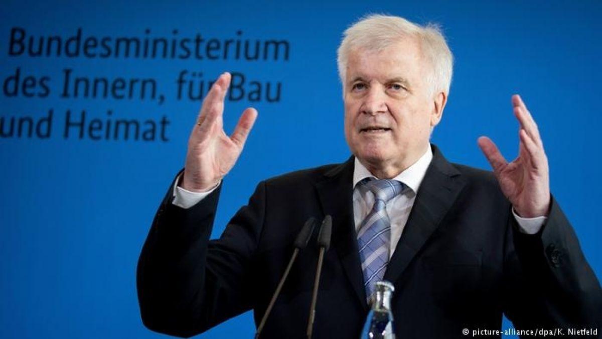 Ministro alemán: migración es la madre de todos los problemas políticos