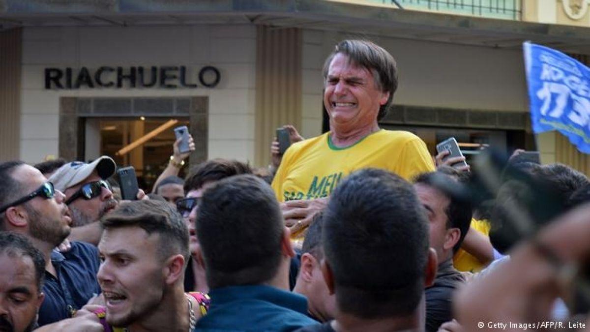 "Brasil: candidato presidencial se encuentra ""grave pero estable"" luego de cirugía tras ser apuñalado"