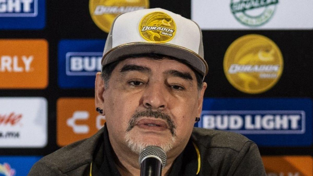 Los ofrecimientos de Evo y Maduro: Las frases de Maradona en su presentación en Dorados