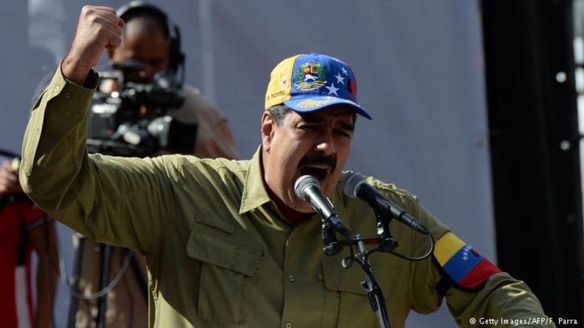 Maduro acusa que campaña contra Venezuela busca justificar un golpe de Estado