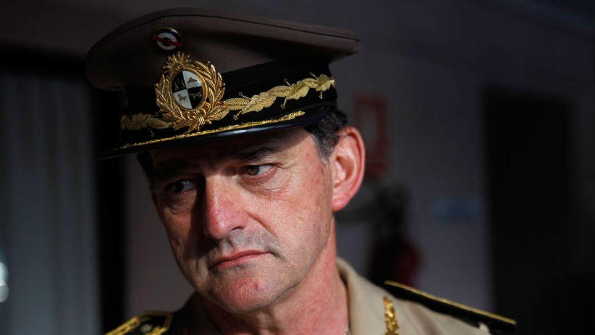 Ordenan el arresto del jefe del Ejército de Uruguay por criticar una medida del gobierno