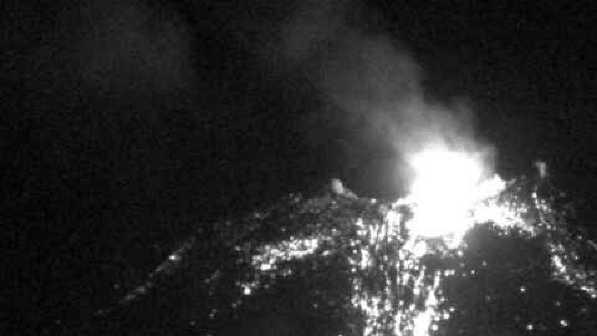 Sernageomin reporta explosión en el Complejo Volcánico Nevados de Chillán