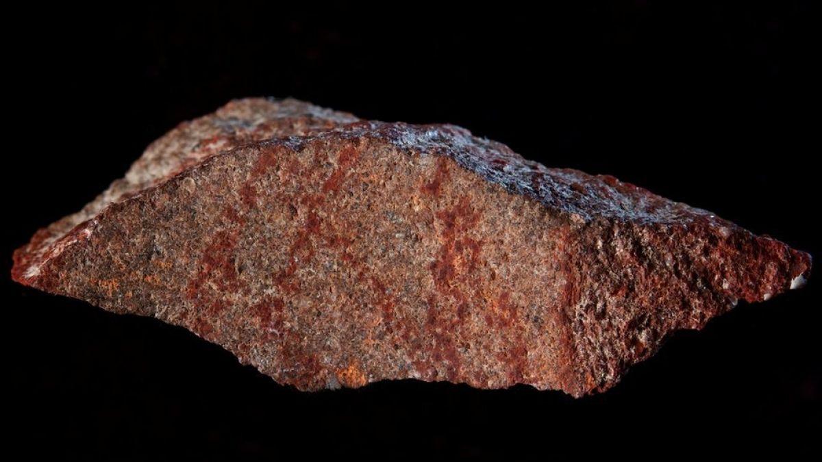 Descubren el dibujo más antiguo de la historia en una cueva de Sudáfrica
