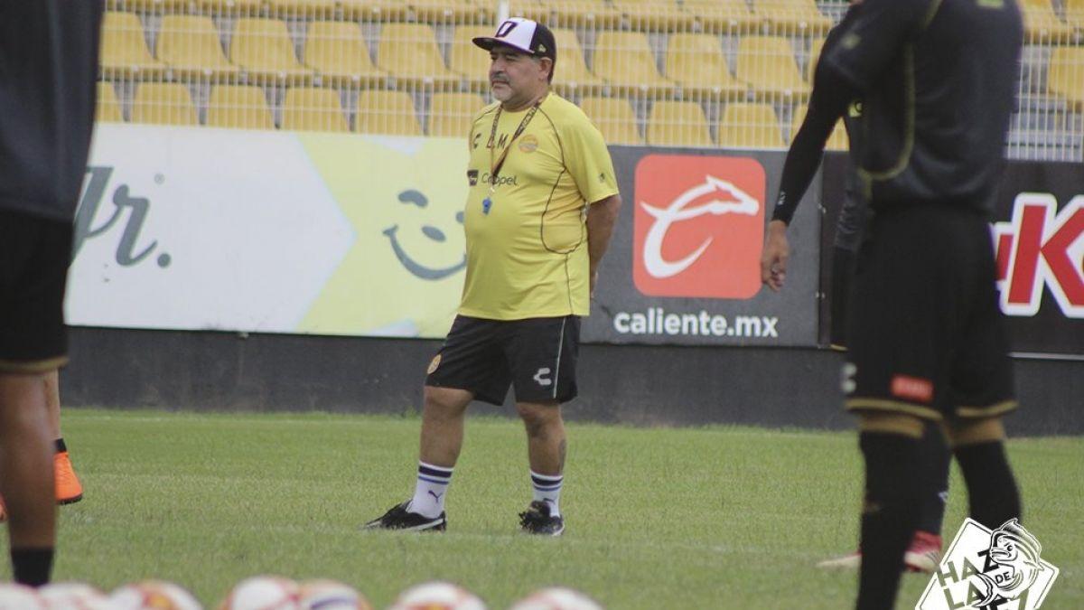 El tranquilizador mensaje de Felipe Flores a Diego Maradona sobre Sinaloa