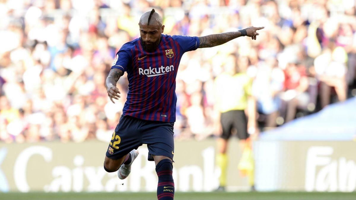 Arturo Vidal suma opciones para ser titular en el próximo partido del FC Barcelona