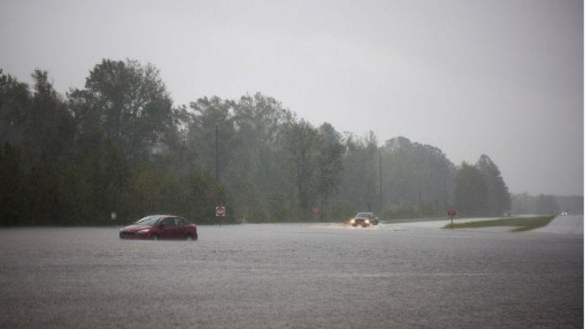 [FOTOS] Las postales que ha dejado el paso del huracán Florence por Estados Unidos