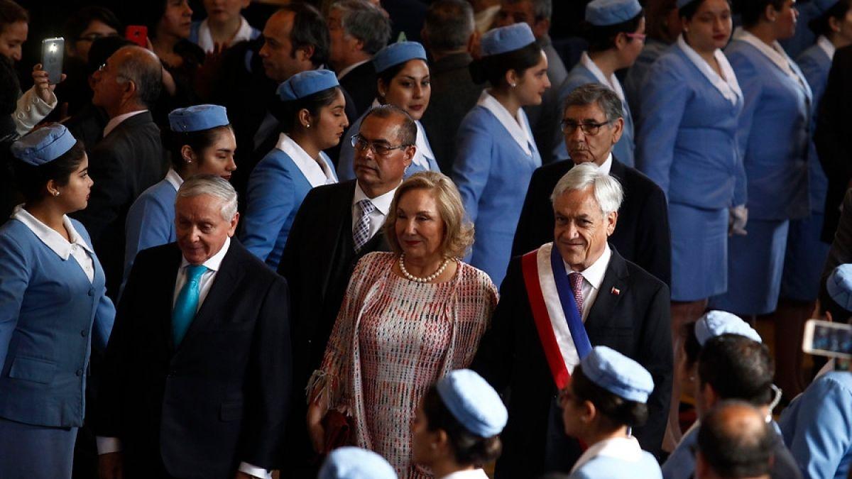 Te Deum: Sebastián Piñera participa de la ceremonia liderada por la Iglesia Evangélica