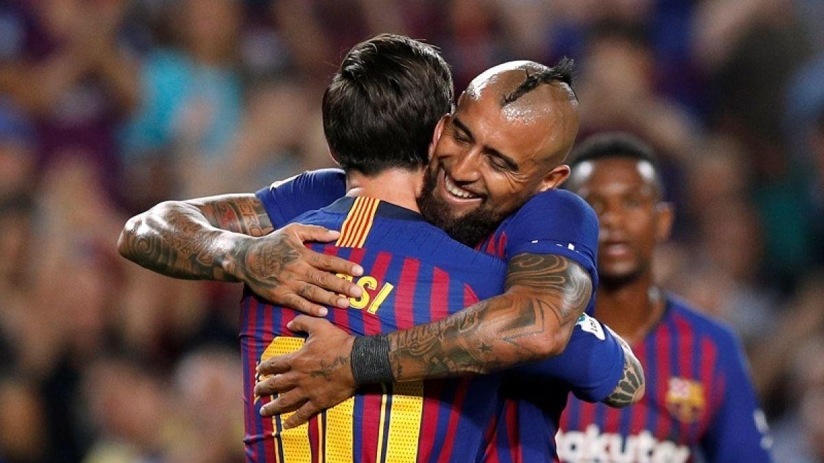 [VIDEO] FC Barcelona revela su nuevo escudo de cara a próximas temporadas