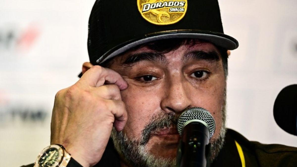Maradona es eliminado de Copa MX con Dorados pero dice no sentir presión