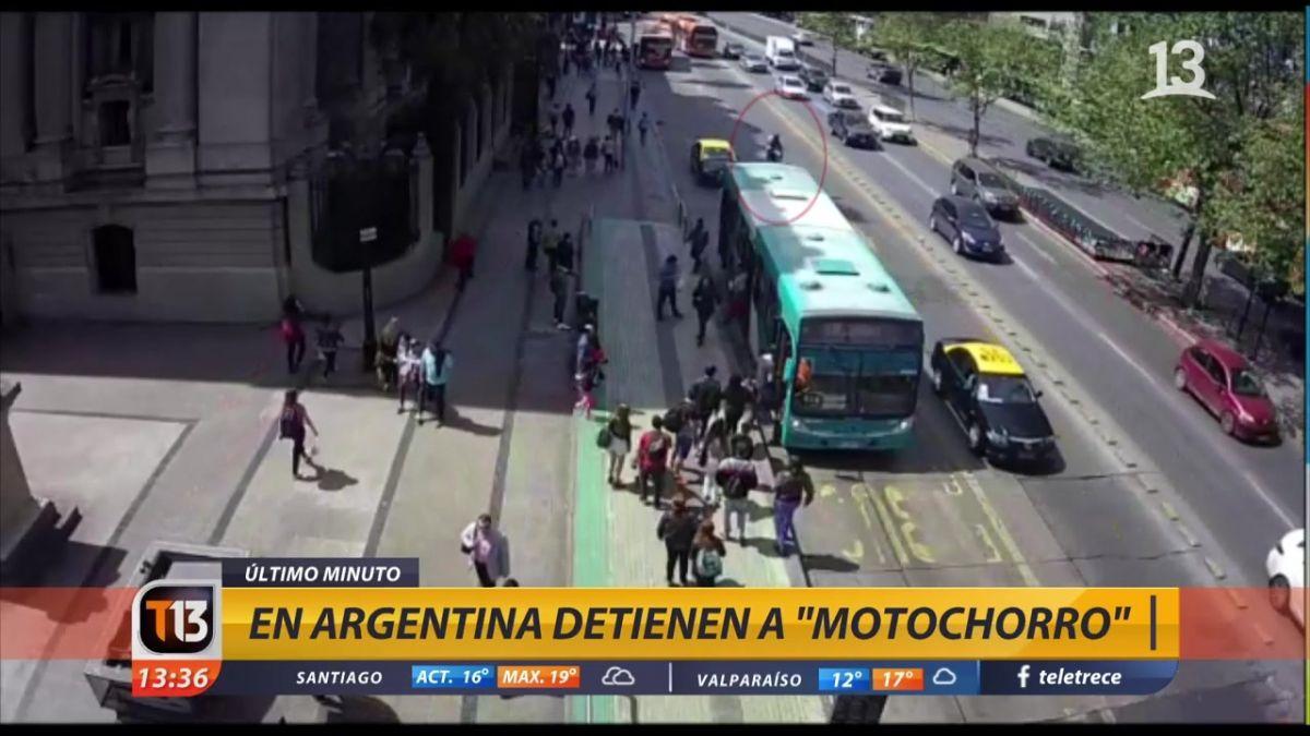 Detienen en Argentina a hombre implicado en muerte de Carabinero