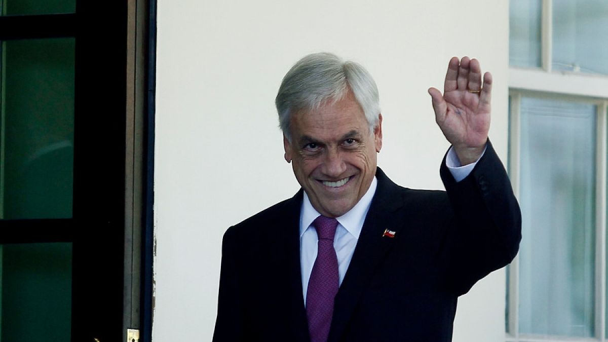 Piñera inicia este viernes gira europea por cinco países