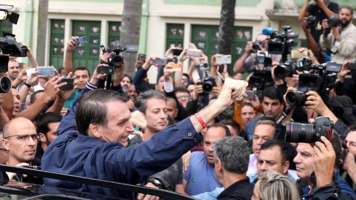 Contundente victoria de Bolsonaro en primera vuelta — Brasil
