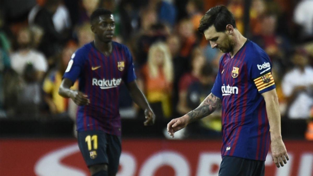 [FOTOS] La frustración de Arturo Vidal en empate de FC Barcelona