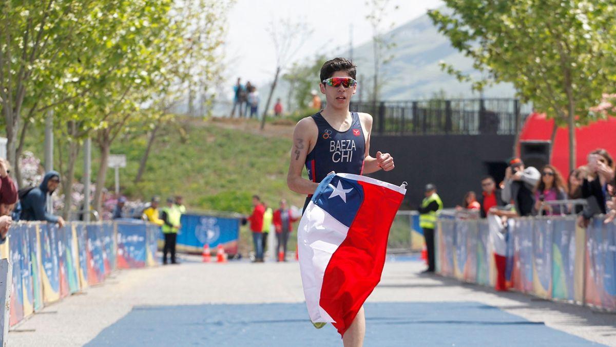 Cristobal Baeza se convirtió en el mejor latinoamericano en el triatlón de los JJ.OO. de la Juventud