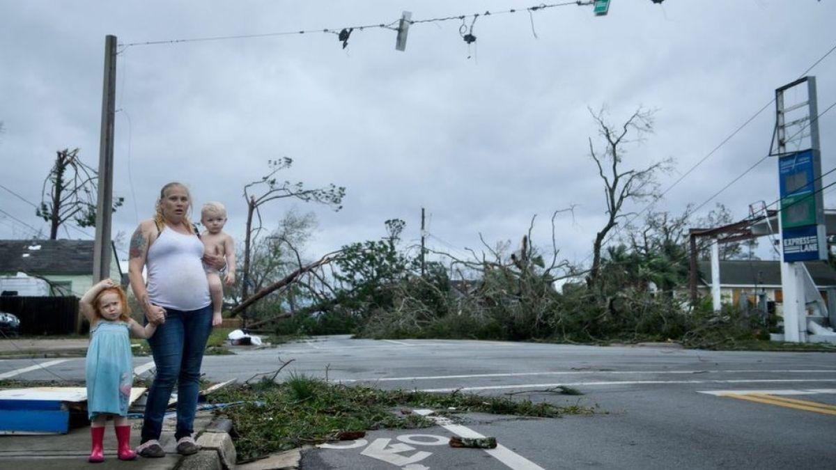 Huracán Michael: el rastro de destrucción que dejó el devastador paso en Florida