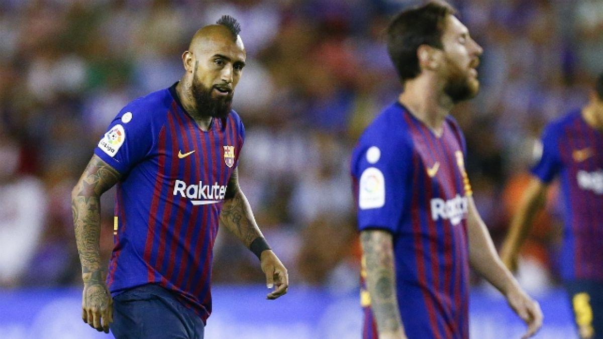 En FC Barcelona acusan a Vidal de faltarle el respeto a sus compañeros