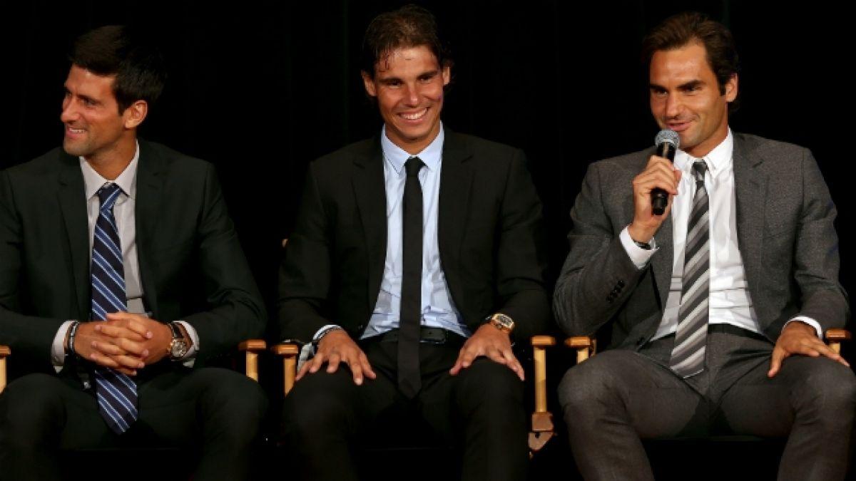 [VIDEO] Figuras del tenis se cuadran con Rafael Nadal y envían saludo por inundaciones en Mallorca