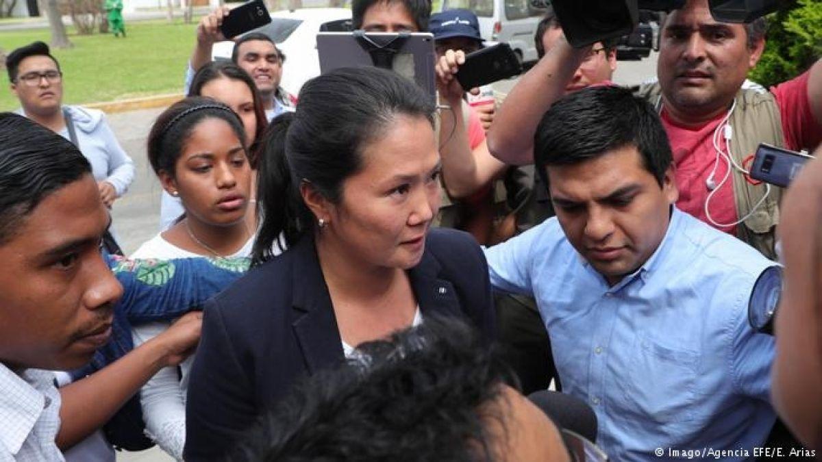 Keiko Fujimori: 71 % de los peruanos califica como justa su detención