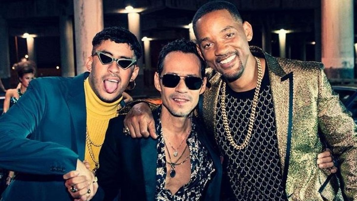 ¿Cuánto mide Bad Bunny? - Altura - Real height 1539703052-bad-bunny-marc-anthony-y-will-smith