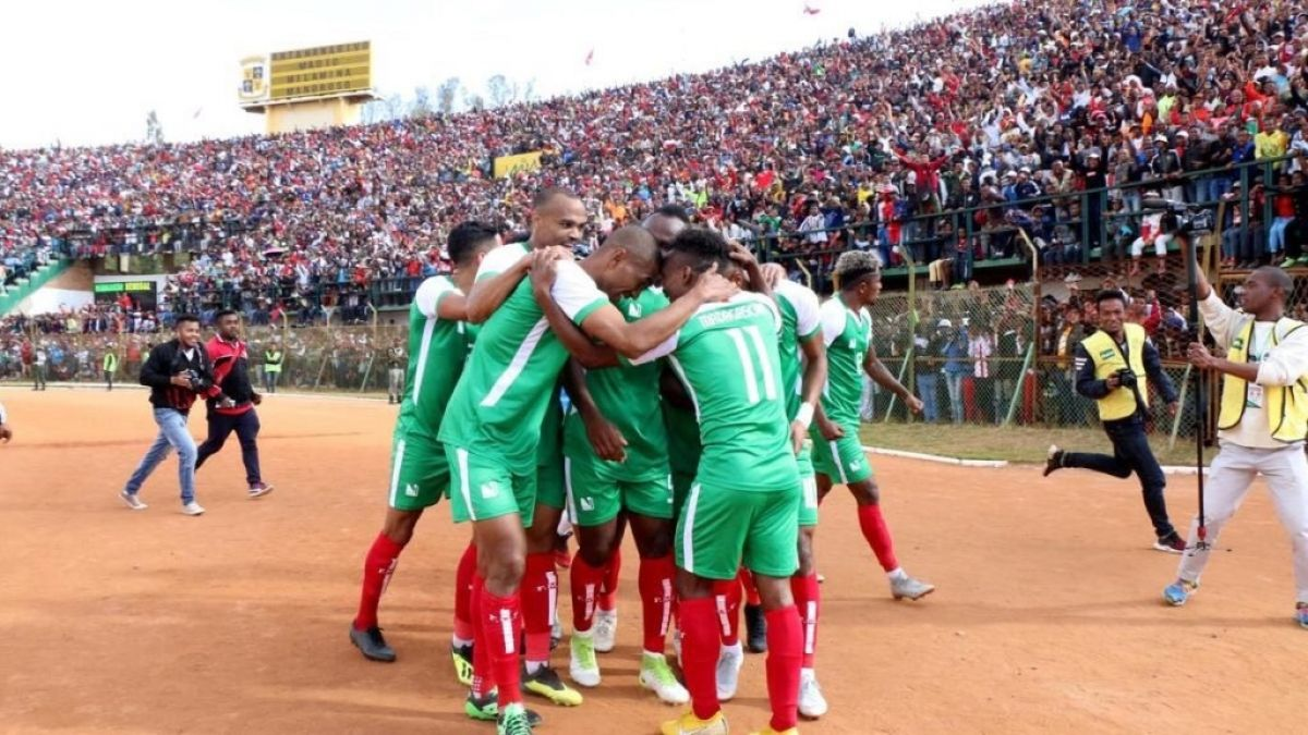 Madagascar clasifica por primera vez en su historia a la Copa de África