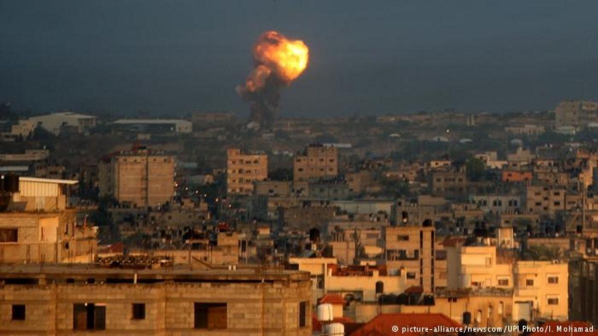 Un muerto y tres heridos en Gaza por bombardeo israelí en respuesta a cohete