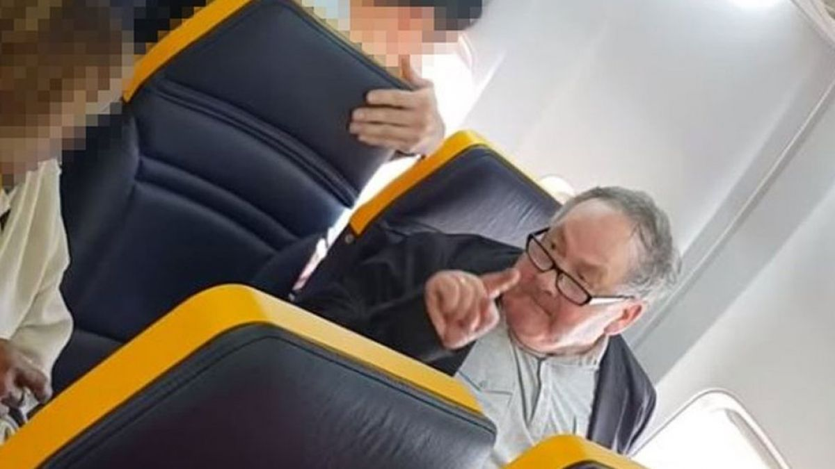 El bochornoso incidente racista durante un vuelo de Ryanair