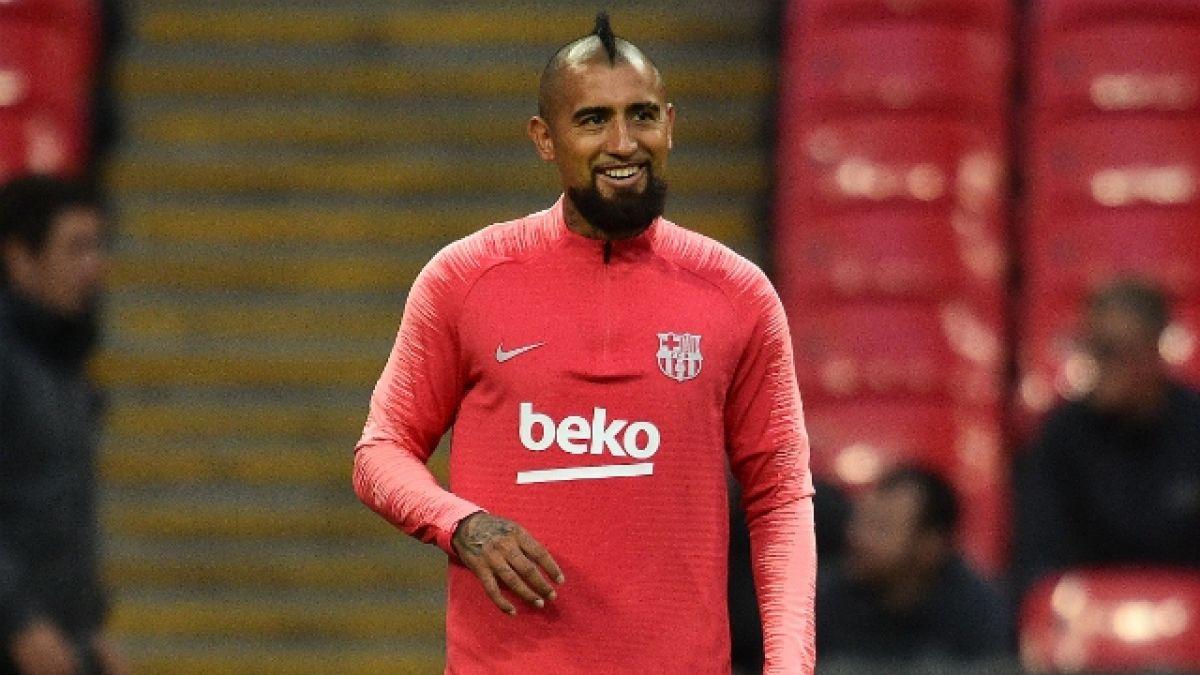 [VIDEO] Las posibilidades de Vidal de ser titular en FC Barcelona ante Inter por la Champions