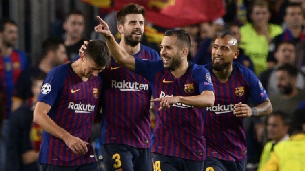Resultado de imagen para arturo vidal gol festejo fc barcelona