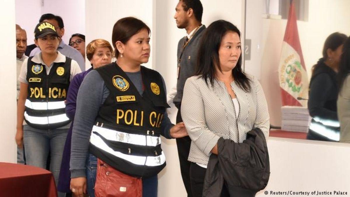 Keiko Fujimori afirma que juez tendría una decisión tomada sobre su prisión
