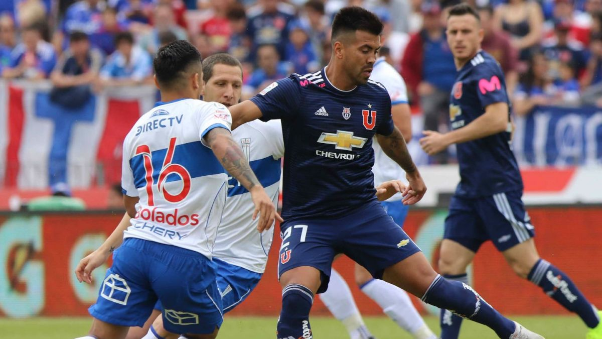 Minuto a Minuto: Universidad de Chile 2-0 Universidad Católica