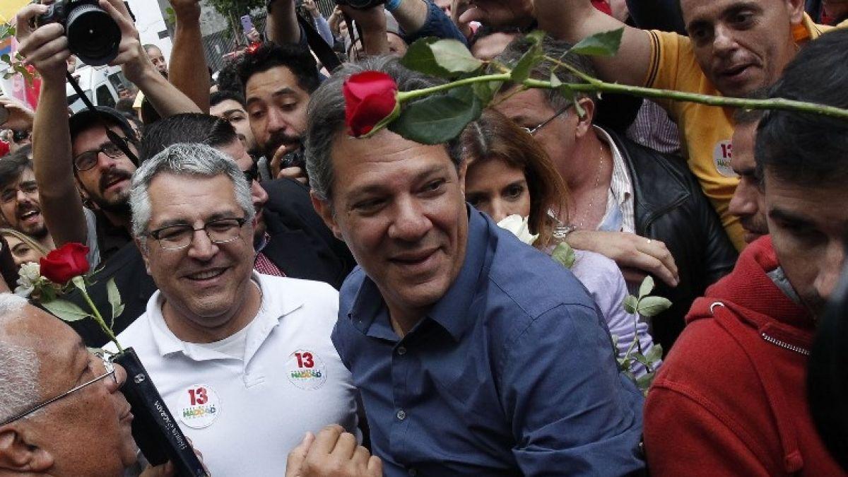 Haddad confía en su triunfo pese a las encuestas: Vamos a luchar hasta el último minuto