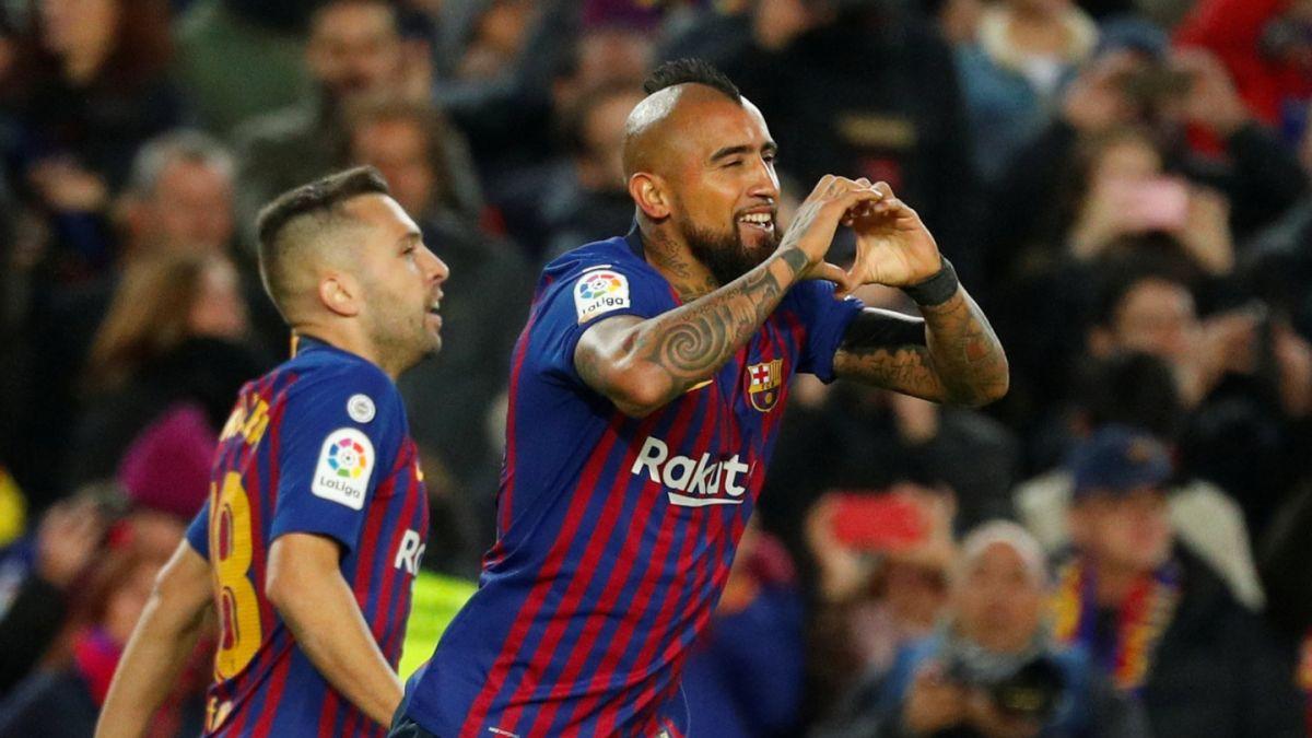 [VIDEO] Con gol de Arturo Vidal el Barcelona goleó al Real Madrid en el clásico español