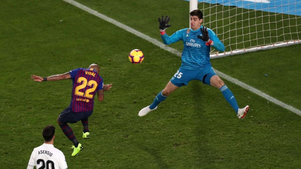[VIDEO] El golazo de Arturo Vidal en la goleada sobre el Real Madrid