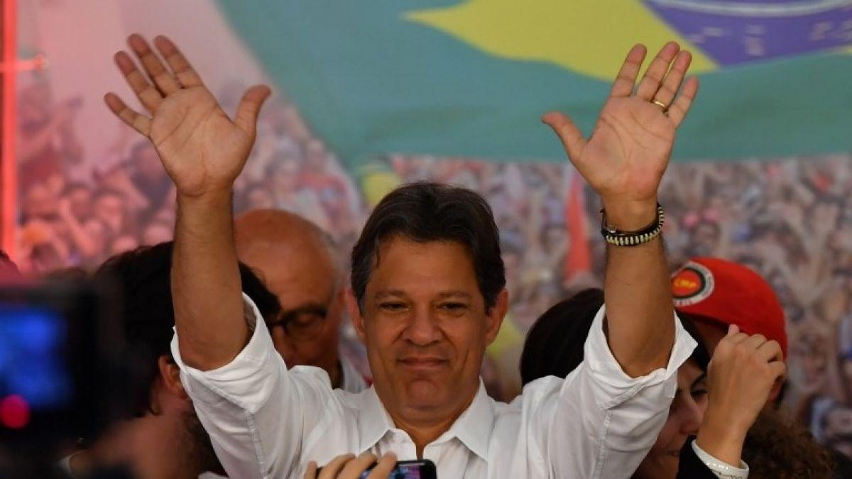 Haddad pide respeto por sus 45 millones de votantes en Brasil