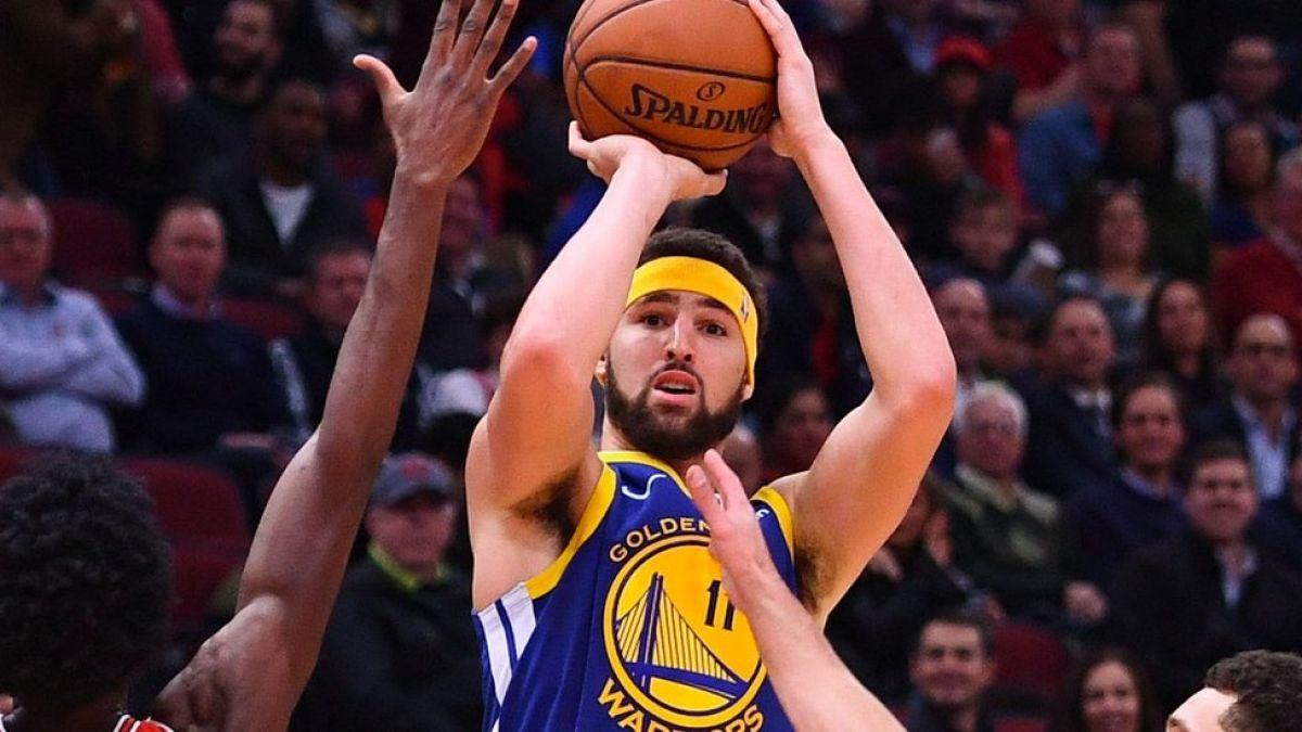 [VIDEO] Récord de Klay Thompson en la NBA: 14 triples en 27 minutos