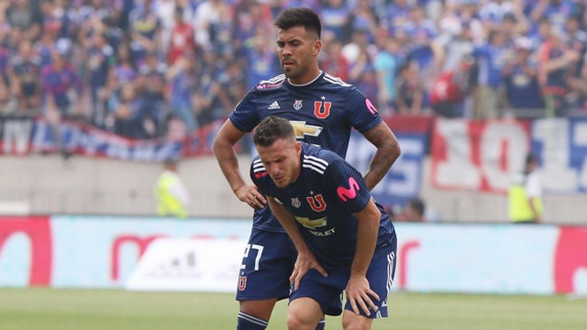 [VIDEO] Universidad de Chile pierde al delantero Ángelo Henríquez por al menos tres semanas