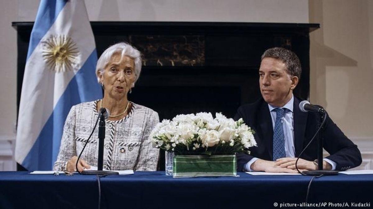 Argentina recibe 5,6 millones de dólares del acuerdo con el FMI
