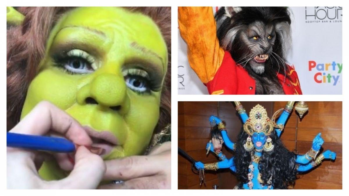 Heidi Klum Sus 18 Impresionantes Disfraces De Halloween Tele 13