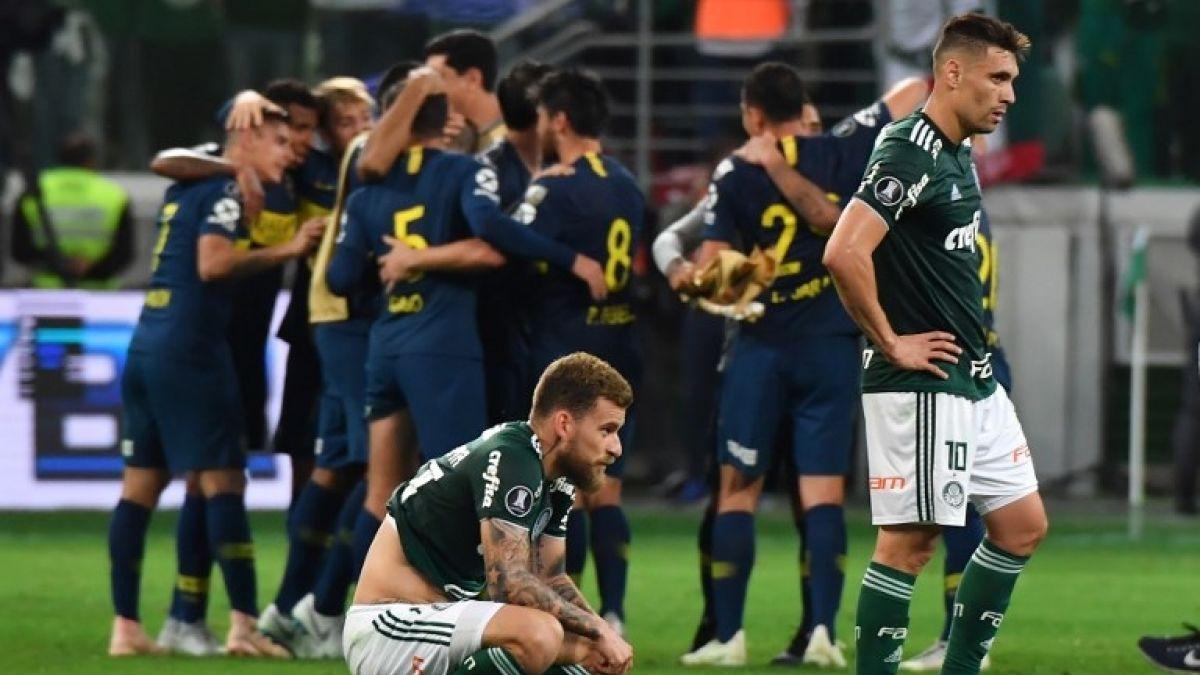 Boca empata 2-2 con Palmeiras y se cita con River en histórica final de Libertadores