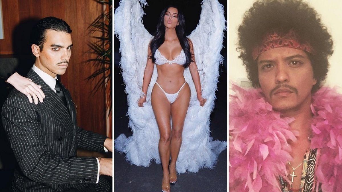 [FOTOS] Los disfraces con que los famosos sorprendieron este Halloween