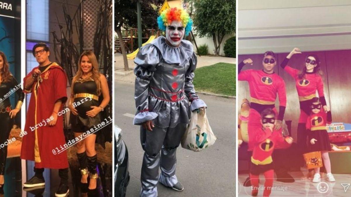 [FOTOS] Así se disfrazaron los futbolistas chilenos este Halloween