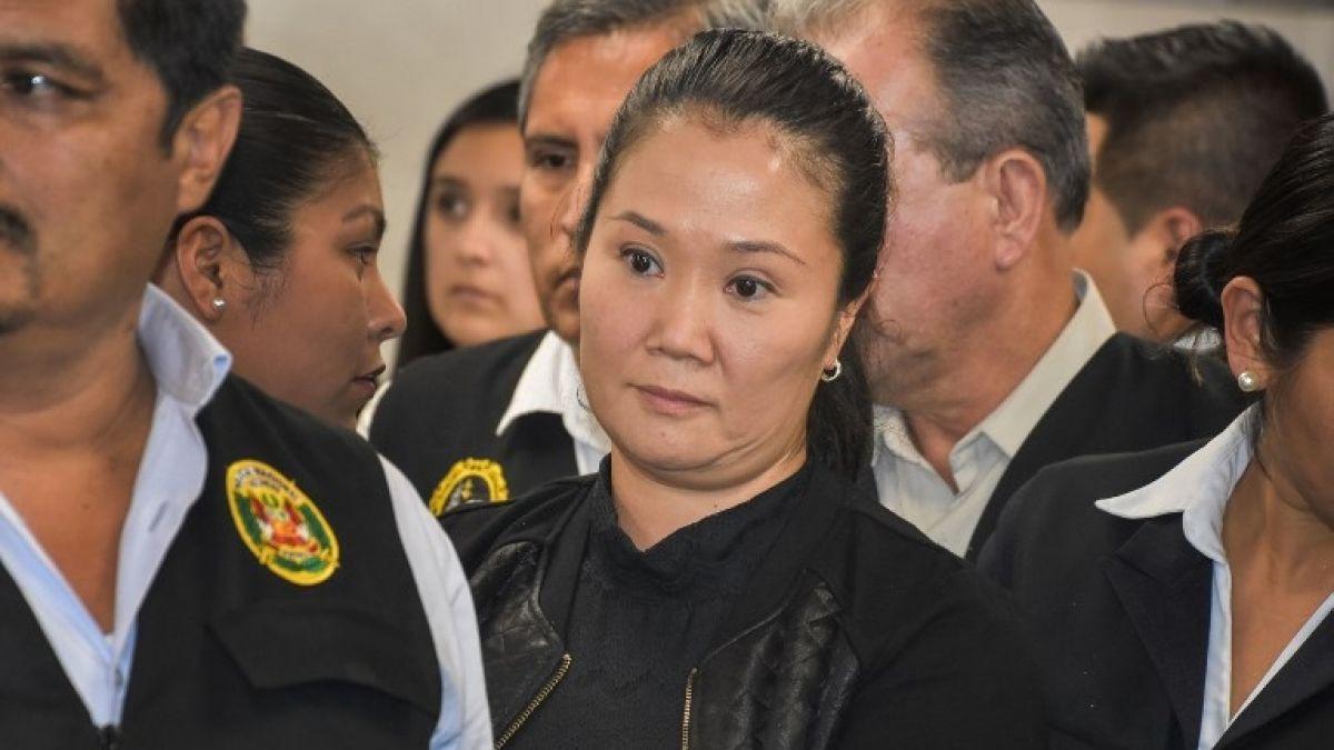 Perú: Separan a juez del caso que encarceló a Keiko Fujimori