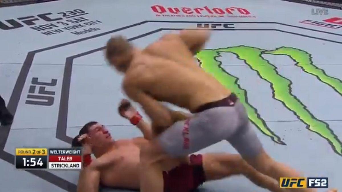 La brutal paliza al guardaespaldas de Neymar que cayó derrotado por KO en la UFC