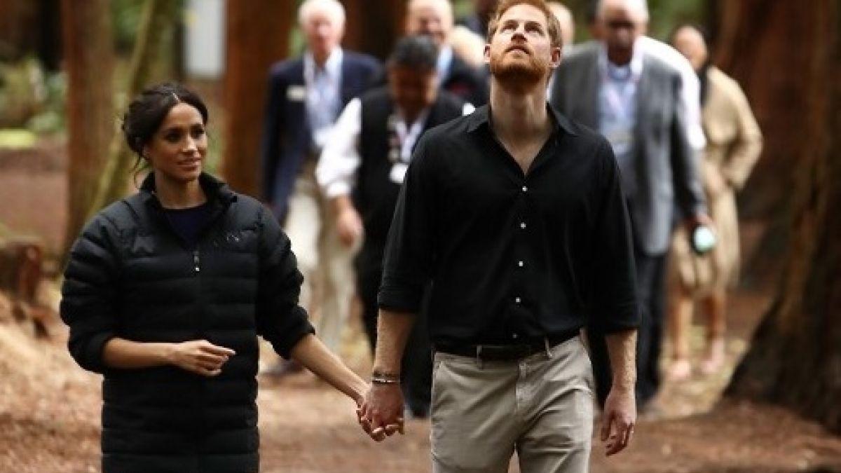 Príncipe Harry comparte fotografía de Meghan Markle embarazada