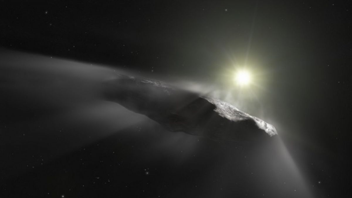 ¡Objeto interestelar Oumuamua es una nave extraterrestre!